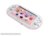 PlayStation Vita Wi-Fiモデル PCH-2000 ライトピンク/ホワイト [PCH-2000ZA]