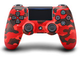 PS4専用ワイヤレスコントローラー [DUALSHOCK4] レッド・カモフラージュ [PS4] [CUH-ZCT2J30]