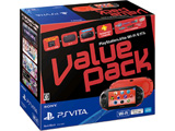 PlayStation Vita Value Pack Wi-Fiモデル レッド/ブラック [PCHJ-10021]