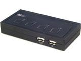 REX-430U (パソコン自動切替器/USB接続/4台用)