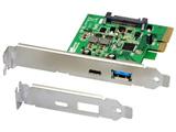 USB3.1 PCI Expressボード(Type-A/Type-C) REX-PEU31-AC