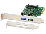 USB3.1 PCI Expressボード(Type-A×2) REX-PEU31-A2
