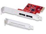 eSATA 2ポート PCI Express ボード