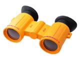 太陽観察オペラグラス 3倍 オレンジ TKSM013OR