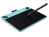 【在庫限り】 ペンタブレット CTL-490/B0 Intuos Draw small ミントブルー