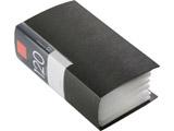 BSCD01F120BK (CD/DVDファイル/ブックタイプ/120枚収納/ブラック)
