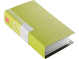 BSCD01F72GR (CD/DVDファイル/ブックタイプ/72枚収納/グリーン)