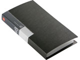 BSCD01F48BK (CD/DVDファイル/ブックタイプ/48枚収納/ブラック)