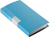 BSCD01F48BL (CD/DVDファイル/ブックタイプ/48枚収納/ブルー)