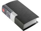 BSCD01F72BK (CD/DVDファイル/ブックタイプ/72枚収納/ブラック)