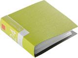 【在庫限り】 BSCD01F24GR (CD/DVDファイル/ブックタイプ/24枚収納/グリーン)