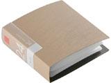 BSCD01F24BG (CD/DVDファイル/ブックタイプ/24枚収納/ベージュ)