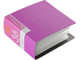 BSCD01F36PK (CD/DVDファイル/ブックタイプ/36枚収納/ピンク)