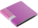 BSCD01F12PK (CD/DVDファイル/ブックタイプ/12枚収納/ピンク)