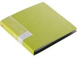 BSCD01F12GR (CD/DVDファイル/ブックタイプ/12枚収納/グリーン)