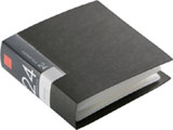 BSCD01F24BK (CD/DVDファイル/ブックタイプ/24枚収納/ブラック)