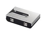 BSU2K21SSV USB2.0 切替器 【Windows10動作対応】[EU RoHS指令準拠]