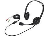 BSHSH07BK (ヘッドセット/φ3.5ミニプラグ/両耳ヘッドバンド式/半密閉タイプ)