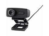 WEBカメラ[USB・120万画素] マイク内蔵(ブラック) BSWHD06MBK