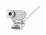 WEBカメラ[USB・120万画素] マイク内蔵(ホワイト) BSWHD06MWH