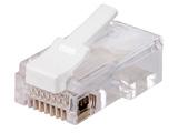 カテゴリー5e対応 LANコネクタ(RJ-45) スリムタイプ(100個入) ETPCRJ45ET100