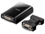 ディスプレイ増設アダプター[USB2.0 to DVI/D-sub] GX-DVI/U2C