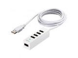 BSH5UD20WH どっちもUSBポート採用USB2.0ハブ 5ポートタイプ 【Windows10動作対応】