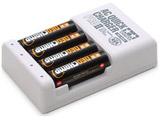 ミニ四駆 単3形ニッケル水素電池ネオチャンプ(4本)と急速充電器PROII