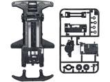 【ミニ四駆】ミニ四駆限定販売商品 フルカウルミニ四駆25周年記念 スーパーTZ-X 強化シャーシ(ブラック)
