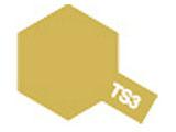 タミヤカラースプレー TS-3 ダークイエロー (つや消し)