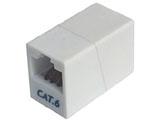 カテゴリー6準拠 マグネット付 LAN中継アダプタ CAT-866M [EU RoHS指令準拠]