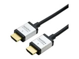 2m[HDMI ⇔ HDMI] HDR・4K・3D・イーサネット対応 Premium HDMIケーブル HDC-P20/BK