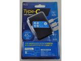 USB PD対応(45W) USB-ACアダプタ 3ポートタイプ IPA-C03/BK