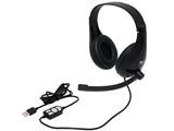 ヘッドセット   UHP-03/BK [USB /両耳 /ヘッドバンドタイプ]