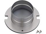 ガス衣類乾燥機オプション 排湿口ガイド DG-80A(Φ80)