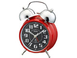 ベル音アラームツインベルタイプのアナログ目覚まし時計 T-700R-Z