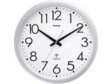 大型サイズのアナログ電波掛け時計 ウェーブ420 W-462SM