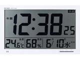 環境目安表示機能付き大型電波時計エアサーチメルスター W-602WH