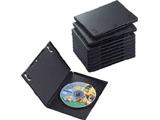 CCD-DVD03BK(DVDトールケース/10枚パック/ブラック)