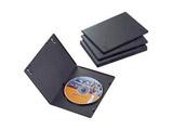 スリムDVDトールケース(1枚収納×5枚セット・ブラック) CCD-DVDS02BK