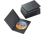【在庫限り】 CCD-DVDS03BK(スリムDVDトールケース/10枚パック/ブラック)