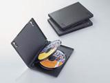 CCD-DVD07BK(DVDトールケース/3枚パック/ブラック)