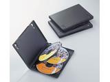 CCD-DVD08BK(DVDトールケース/3枚パック/ブラック)