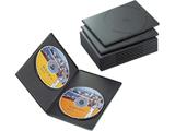 CCD-DVDS06BK (スリムDVDトールケース/2枚収納/10枚パック/ブラック)