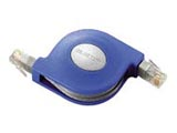 LD-MCTU/BU2(カテゴリ5 携帯巻取LANケーブル/2.5m/ブルー)