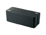 燃えにくいケーブルボックス (幅400mm・ブラック) EKC-BOX001BK