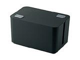 燃えにくいケーブルボックス (幅250mm・ブラック) EKC-BOX002BK