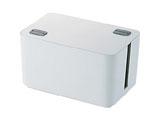 燃えにくいケーブルボックス (幅250mm・ホワイト) EKC-BOX002WH