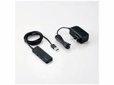 USB2.0ハブ ACアダプター付〔4ポート・セルフ&バスパワー・Mac/Win〕ブラック U2H-AN4SBK