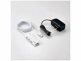 USB2.0ハブ ACアダプター付〔4ポート・セルフ&バスパワー・Mac/Win〕ホワイト U2H-AN4SWH